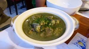 G14 eel stew chervill