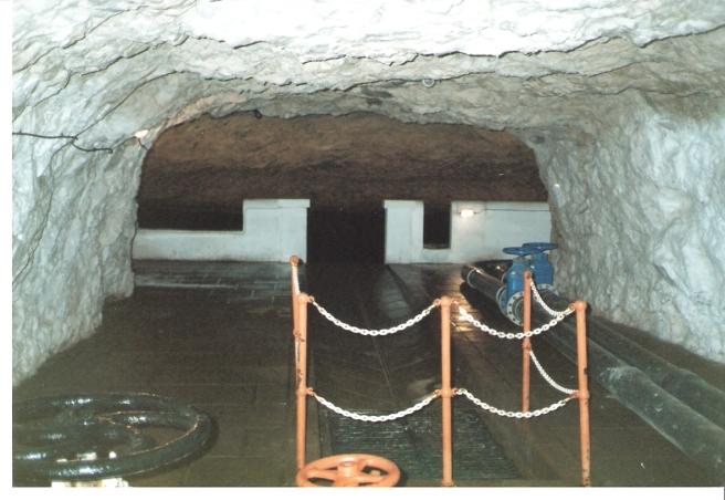 U6 Inlet Channel to reservoir