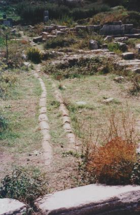 Roman Water Pipes in Ephesus Turkey 001