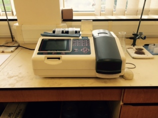 2 Laboratory Spectrophotometer