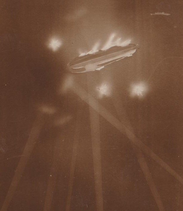 Zeppelin over Essex 24-9-1916