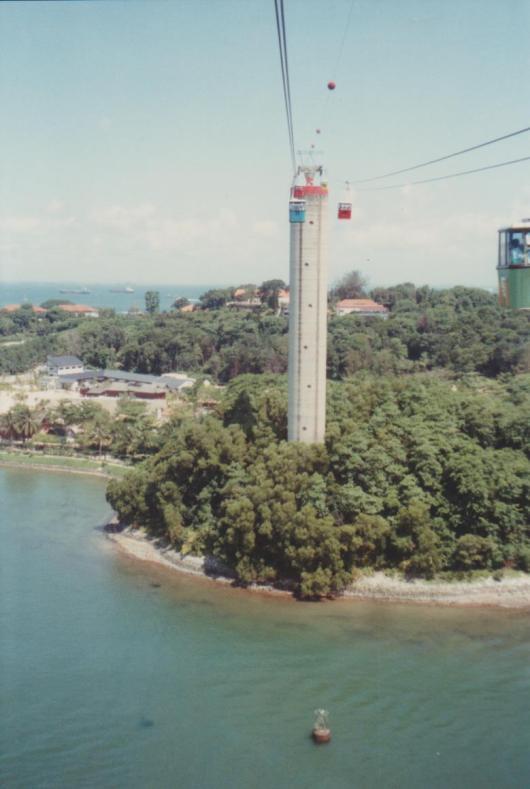 Sentosa Island Cable Car 001